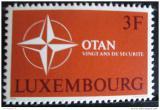 Poštovní známka Lucembursko 1969 Výročí NATO Mi# 794