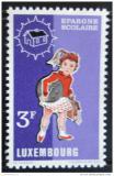Poštovní známka Lucembursko 1971 Školačka Mi# 835