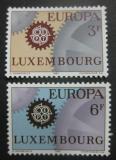 Poštovní známky Lucembursko 1967 Evropa CEPT Mi# 748-49