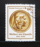 Poštovní známka Západní Berlín 1981 Adelbert von Chamisso, básník Mi# 638