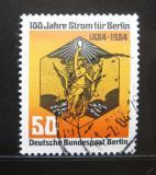 Poštovní známka Západní Berlín 1984 Elektřina, 100. výročí Mi# 720