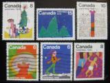 Poštovní známky Kanada 1975 Vánoce Mi# 610-15