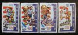 Poštovní známky Guinea 1992 MS ve fotbale Mi# 1367-70