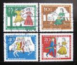 Poštovní známky Německo 1965 Popelka Mi# 485-88