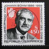 Poštovní známka Rakousko 1986 Johann Böhm Mi# 1836