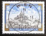 Poštovní známka Rakousko 1986 Observatoř Sonnblick Mi# 1857