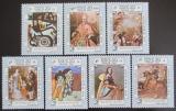 Poštovní známky Laos 1983 Umění Mi# 735-41