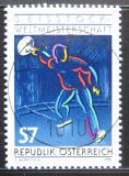 Poštovní známka Rakousko 1990 MS v curlingu Mi# 2010