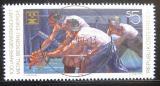 Poštovní známka Rakousko 1990 Oceláři a horníci Mi# 2009