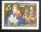Poštovní známka Rakousko 1989 Vánoce Mi# 1977