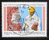 Poštovní známka Rakousko 1989 Zedník Mi# 1973