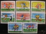 Poštovní známky Rumunsko 1990 MS ve fotbalu Mi# 4594-4601