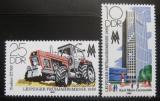 Poštovní známky DDR 1980 Lipský veletrh Mi# 2498-99