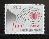 Poštovní známka San Marino 1962 Evropa CEPT