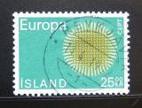 Poštovní známka Island 1970 Evropa CEPT Mi# 443