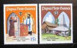 Poštovní známky Papua Nová Guinea 1986 Luteránský kostel Mi# 529-30