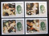 Poštovní známky Cookovy ostrovy 1982 Umění, Princezna Diana Mi# 840-43