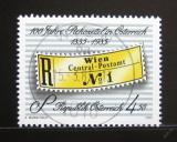 Poštovní známka Rakousko 1985 Registrační nálepky Mi# 1806