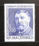 Poštovní známka Rakousko 1985 Dr. Adam Politzer, lékař Mi# 1826