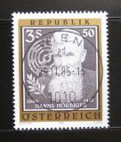 Poštovní známka Rakousko 1985 Hanns Hörbiger Mi# 1833