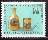 Poštovní známka Rakousko 1988 Štýrská výstava skla Mi# 1919