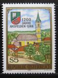 Poštovní známka Rakousko 1988 Ansfelden Mi# 1935