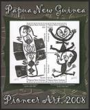 Poštovní známka Papua Nová Guinea 2008 Umění Mi# Block 61