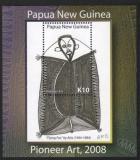 Poštovní známka Papua Nová Guinea 2008 Umění Mi# Block 62