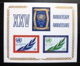 Poštovní známka OSN New York 1970 Výročí OSN Mi# Block 5