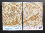 Poštovní známky OSN New York 1969 Umění Mi# 218-19