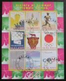 Poštovní známky Malawi 2008 Historie olympijských her