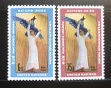 Poštovní známky OSN New York 1968 Umění Mi# 198-99