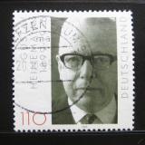 Poštovní známka Německo 1999 Prezident Heinemann Mi# 2067
