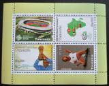 Poštovní známka Tanzánie 2006 MS ve fotbale Mi# Block 587