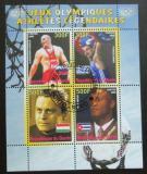 Poštovní známka Benin 2008 Olympijští medailisti