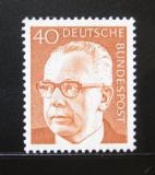 Poštovní známka Německo 1971 Prezident Heinemann Mi# 639