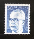 Poštovní známka Německo 1971 Prezident Heinemann Mi# 640