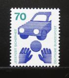 Poštovní známka Německo 1973 Prevence před nehodami Mi# 773