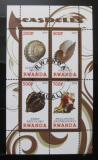 Poštovní známky Rwanda 2010 Život v moři - lastury