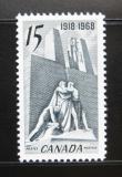 Poštovní známka Kanada 1968 Kanadský památník, Francie Mi# 427