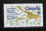 Poštovní známka Kanada 1970 Řez listem Mi# 450