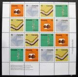 Poštovní známky Kanada 1972 Geologické zlomy Mi# 502-05 Kat 40€
