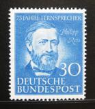 Poštovní známka Německo 1952 Philipp Reis Mi# 161 Kat 22€