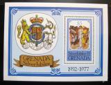 Poštovní známka Grenada 1977 Vláda Alžběty II. Mi# Block 63