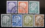 Poštovní známky Německo 1954 Prezident Heuss Mi# 187-94