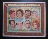 Poštovní známka Gambie 1996 Osobnosti Mi# 2446-53