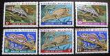 Poštovní známky Madagaskar 1973 Chameleoni Mi# 683-88