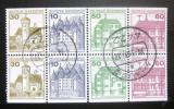 Poštovní známky Německo 1979 Hrady, ze sešitku SC# 1231d