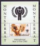 Poštovní známka Montserrat 1979 Mezinárodní rok dětí Mi# Block 20