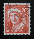 Poštovní známka Německo 1951 Elsa Brändström Mi# 145